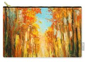 Autumn Forest Impression Carry-all Pouch