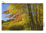 Autumn Forest Scene In West Michigan Carry-all Pouch