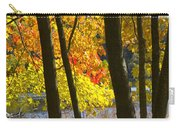 Autumn Forest Scene Carry-all Pouch