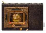 Autumn Frame Carry-all Pouch by Amanda Elwell