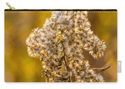 Autumn Goldenrod And A Poser Carry-all Pouch
