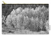 Autumn Grazing Horses Bonanza Bw Carry-all Pouch by James BO  Insogna