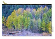 Autumn Grazing Horses Bonanza Carry-all Pouch by James BO  Insogna