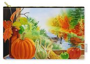 Autumn Harvest Fall Delight Carry-all Pouch