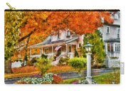 Autumn - House - The Beauty Of Autumn Carry-all Pouch by Mike Savad