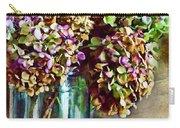 Autumn Hydrangeas Photoart Carry-all Pouch