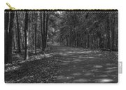 Autumn In Black And White Carry-all Pouch