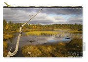 Autumn In Finland Near Inari Carry-all Pouch