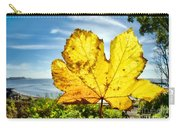 Autumn In Lyme Regis Carry-all Pouch