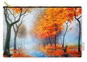 Autumn In The Morning Mist Carry-all Pouch