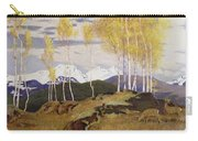 Autumn In The Mountains Carry-all Pouch by Adrian Scott Stokes