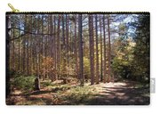 Autumn In The Pines Carry-all Pouch