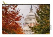 Autumn In The Us Capitol Carry-all Pouch