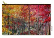 Autumn In The Woods Carry-all Pouch