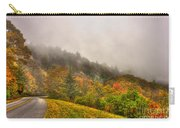 Autumn Just Around The Bend Blue Ridge Parkway In Nc Carry-all Pouch