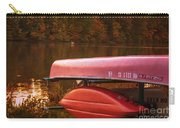 Autumn Kayaks On Newport Lake Carry-all Pouch
