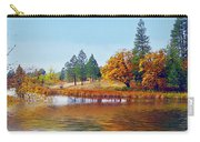 Autumn Lake In The Woods Carry-all Pouch