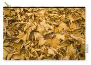 Autumn Leaf Background Carry-all Pouch