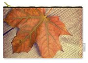 Autumn Leaf Carry-all Pouch by Amanda Elwell