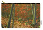 Autumn Leaf Litter Carry-all Pouch
