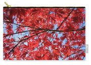 Autumn Leaves And Blue Sky Carry-all Pouch