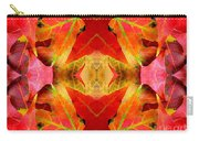 Autumn Leaves Mirrored Carry-all Pouch