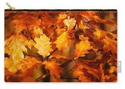 Autumn Leaves Oil Carry-all Pouch