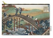 Autumn Leaves On The Tsutaya River Carry-all Pouch