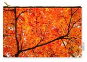 Glorious Autumn Leaves Carry-all Pouch