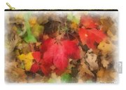 Autumn Leaves Photo Art 04 Carry-all Pouch