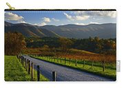 Autumn Light On Hyatt Lane - Great Smoky Mountains Carry-all Pouch