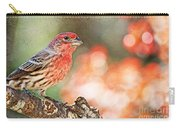 Autumn Male House Finch 1 Carry-all Pouch