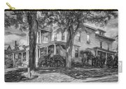 Autumn Mansion 4 - Paint Bw Carry-all Pouch