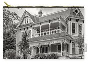 Autumn Mansion Bw Carry-all Pouch