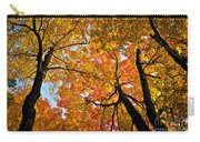 Autumn Maple Trees Carry-all Pouch by Elena Elisseeva