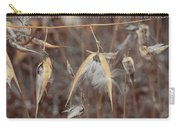 Autumn Milkweed Carry-all Pouch