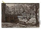 Autumn Mill Sepia Carry-all Pouch