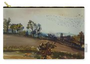 Autumn Mood, 1980 Wc On Paper Carry-all Pouch