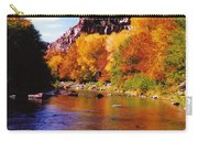 Autumn Oak Creek  Carry-all Pouch