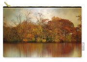 Autumn On A Pond Carry-all Pouch