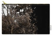 Autumn On Maple Road Carry-all Pouch