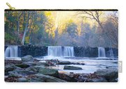 Autumn On The Wissahickon Waterfall Carry-all Pouch