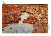 Autumn Or Fall Carry-all Pouch by Jasna Buncic