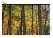 Autumn Pines Square Carry-all Pouch