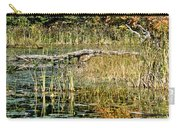 Autumn Pond Scene Carry-all Pouch