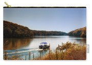 Autumn Pontoon Boating Argyle Lake Carry-all Pouch