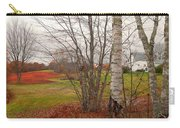 Autumn Red Field Maine  Carry-all Pouch