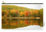 Autumn Reflection Panoramic View Carry-all Pouch
