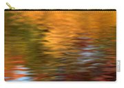 Autumn Reflections In Pond Carry-all Pouch