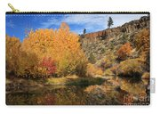Autumn Reflections In The Susan River Canyon Carry-all Pouch